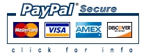 Sign up now using safe secure PayPal!